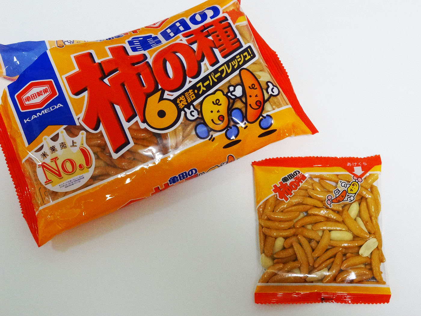 柿の種の新商品タネザック発売もべビスタと被る?食感と味に期待!